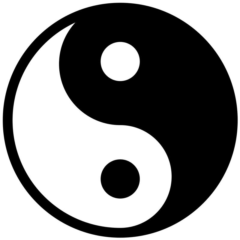 yin und yang symbol balance. Black Bedroom Furniture Sets. Home Design Ideas