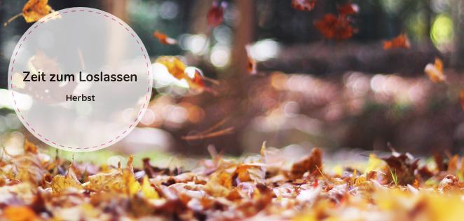 Herbst - die Zeit zum Loslassen