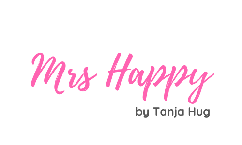 Mrs Happy by Tanja Hug